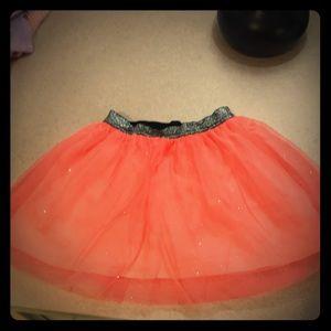 Cat &Jack girls sparkle skirt